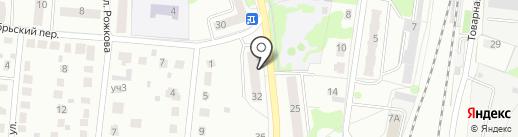 Главное Управление Пенсионного фонда РФ №4 г. Москвы и Московской области на карте Климовска