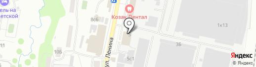 Евросеть на карте Климовска