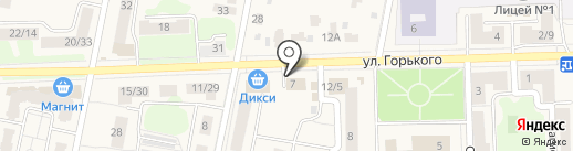 Монумент на карте Подольска
