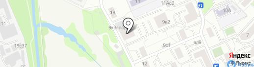 Стройком-Ф на карте Москвы