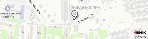 Российское объединение инкассации на карте Щёкино