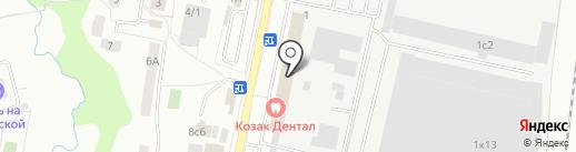 Профиль на карте Климовска