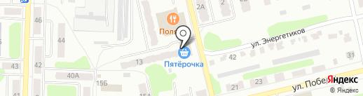 Пятёрочка на карте Щёкино