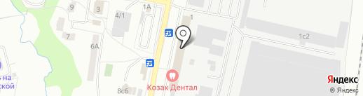 Нотариус Бурмистрова Л.С. на карте Климовска