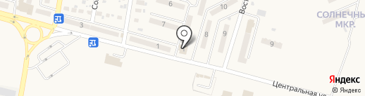 Наша Ряба на карте Красногоровки