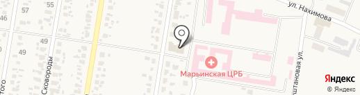 Рассвет на карте Красногоровки