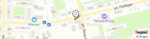 Комиссионный магазин на карте Щёкино
