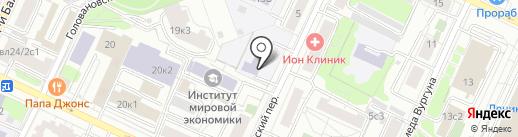 Московский центр качества образования на карте Москвы