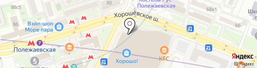 Хорошо! на карте Москвы