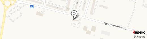 Магазин автотоваров на карте Красногоровки