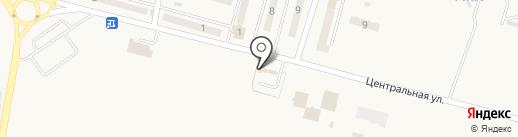 Гарант на карте Красногоровки