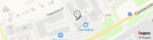 Торговая компания на карте Петровского