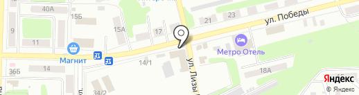 E.V.A на карте Щёкино
