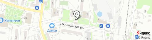 Спутник на карте Климовска