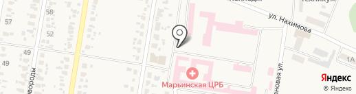 Киоск по продаже фастфудной продукции на карте Красногоровки