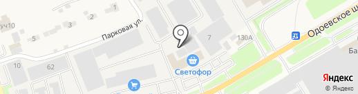 Союзтуларыба на карте Петровского