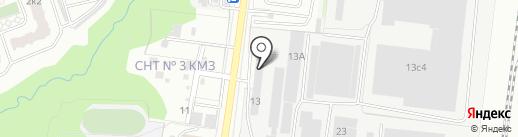 Стекловит на карте Подольска