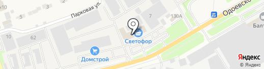 Светофор на карте Петровского
