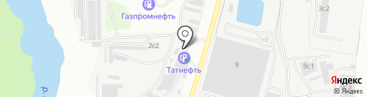 АЗС Татнефть на карте Климовска
