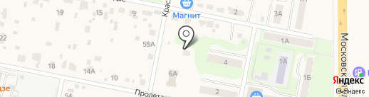 Шиномонтажная мастерская на карте Подольска