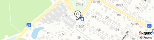 5 колесо на карте Подольска