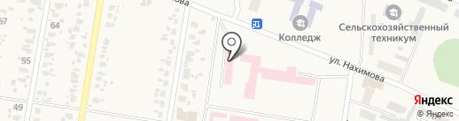 Красногоровская амбулатория общей практики семейной медицины на карте Красногоровки