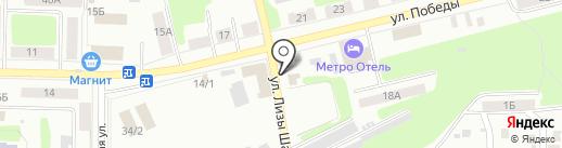 Шиномонтажная мастерская на карте Щёкино