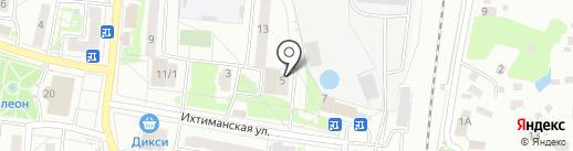Огонёк на карте Климовска