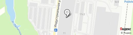 АККОРД ПОСТ на карте Климовска