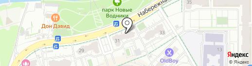 КВИН на карте Долгопрудного
