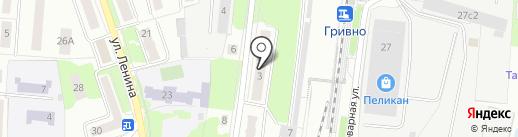 Подольские потолки на карте Подольска