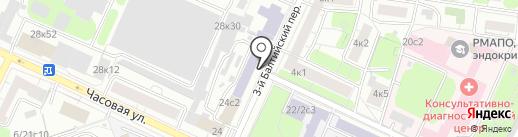 Palazzo D`oro на карте Москвы