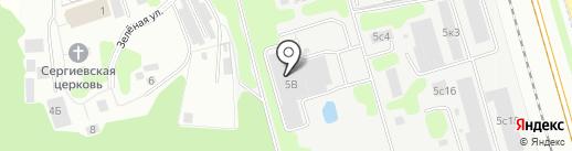 Прайм Принт Москва на карте Долгопрудного