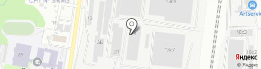 Компания Юнит Пром на карте Климовска