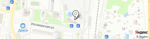 Зоомагазин на Ихтиманской на карте Климовска