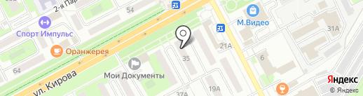 Уборка-Клинин-Центр на карте Подольска