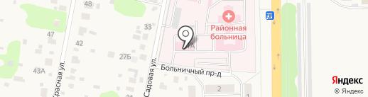 Львовская районная больница на карте Подольска