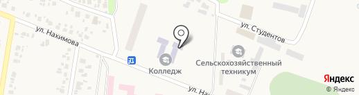 Донецкий техникум на карте Красногоровки