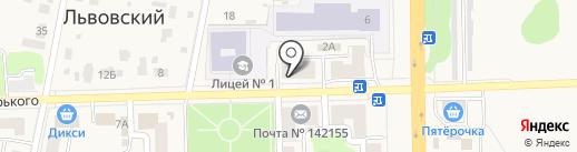 Книголюб на карте Подольска