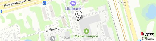 РАДУГА-плит на карте Долгопрудного