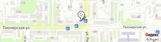 Радуга на карте Щёкино