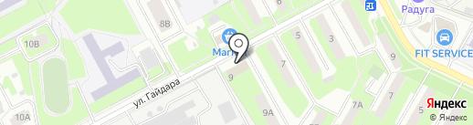 Ателье по пошиву штор на карте Подольска