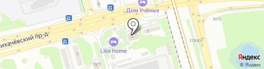 Художественно-таксидермическая студия Александра Полещука на карте Долгопрудного
