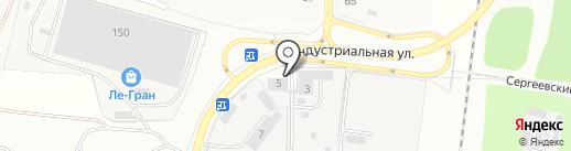 ТЕКС на карте Климовска