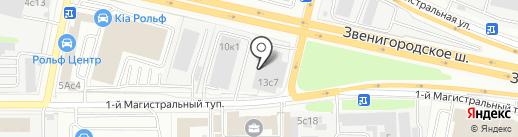 Атлантик на карте Москвы