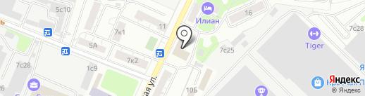 Трещотка.ру на карте Москвы
