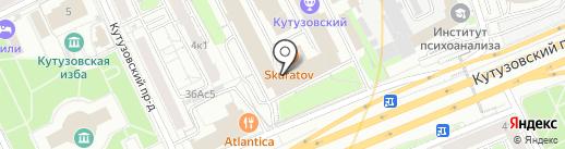 Мужская Школа на карте Москвы