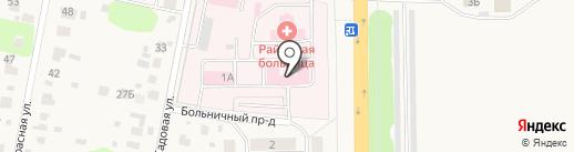 Женская консультация на карте Львовского