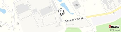 АтлантТранс-сервис на карте Подольска