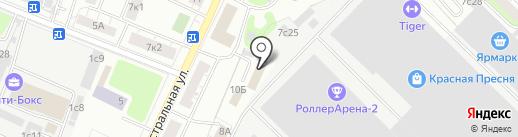 Aide на карте Москвы